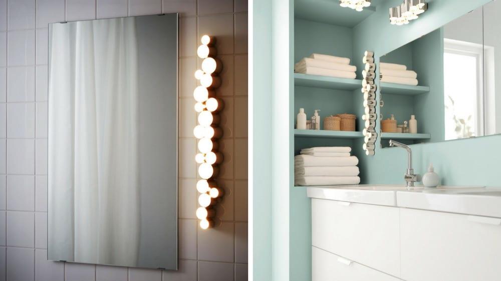 Comment bien éclairer un miroir de salle de bain?