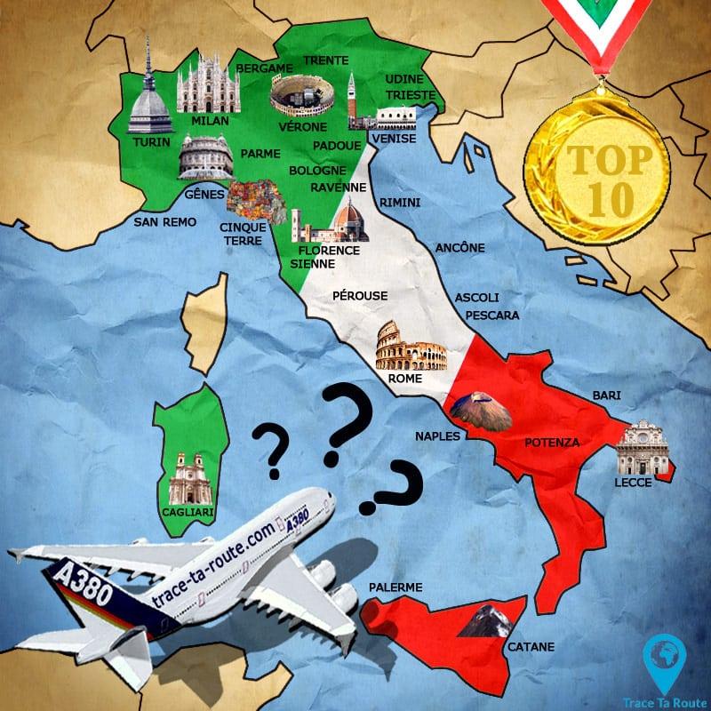 Quelle ville à visiter en Italie ?