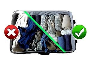 Bien préparer ses bagaes pour partir en vacances