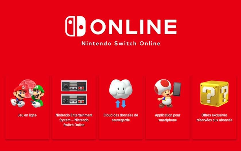 Comment jouer en ligne avec la switch ?